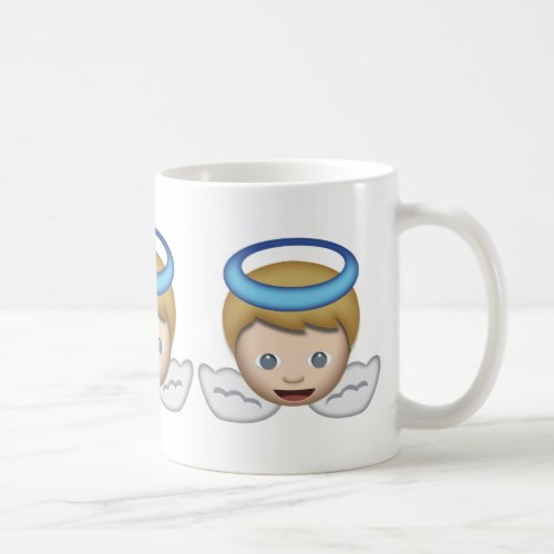 Baby Angel Emoji Coffee Mug