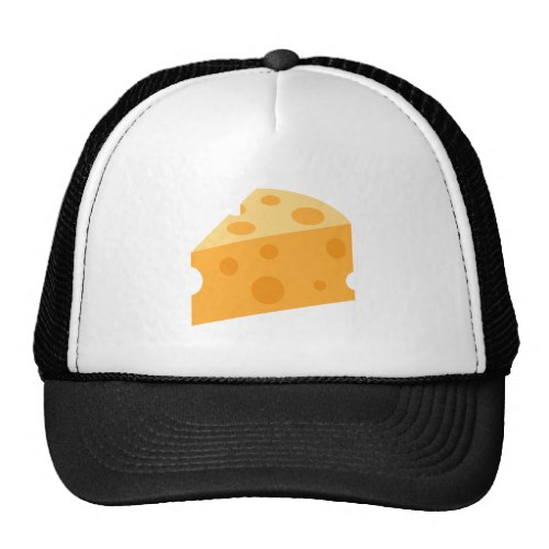 Cheese Wedge Emoji Trucker Hat