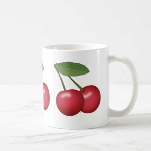 Cherries Emoji Coffee Mug
