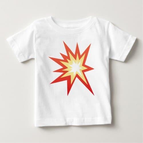 Collision Symbol Emoji Baby T-Shirt