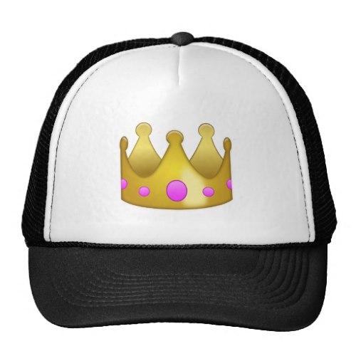 Crown Emoji Trucker Hat