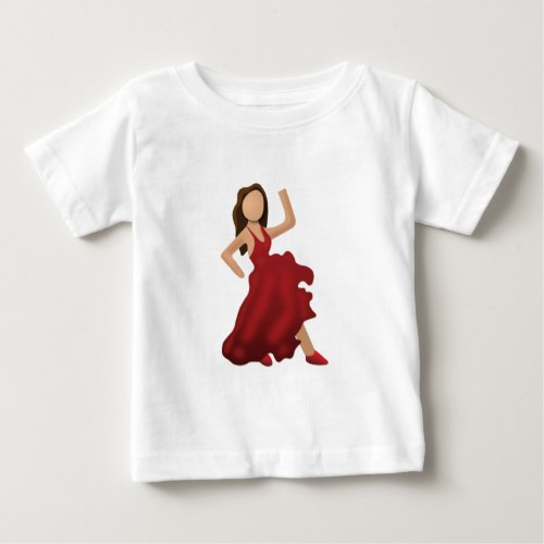 Dancer Emoji Baby T-Shirt
