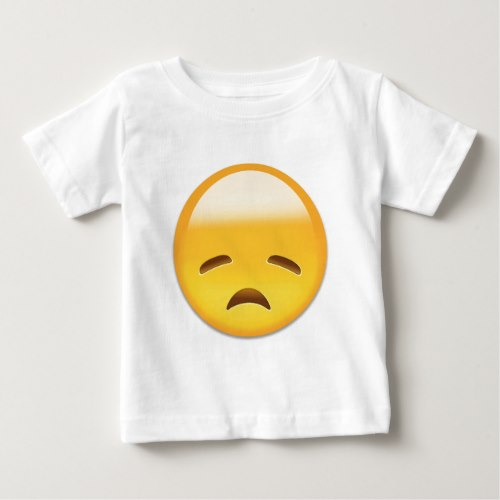 Disappointed Face Emoji Baby T-Shirt