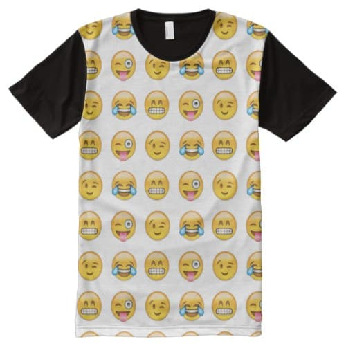 Emoji All-Over-Print T-Shirt