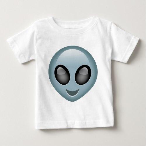 Extraterrestrial Alien Emoji Baby T-Shirt