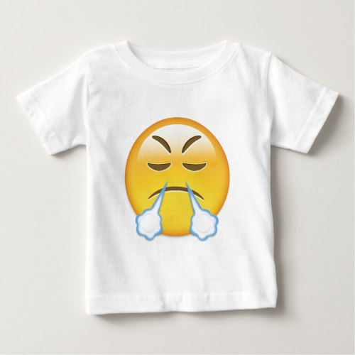 Face With Look Of Triumph Emoji Baby T-Shirt
