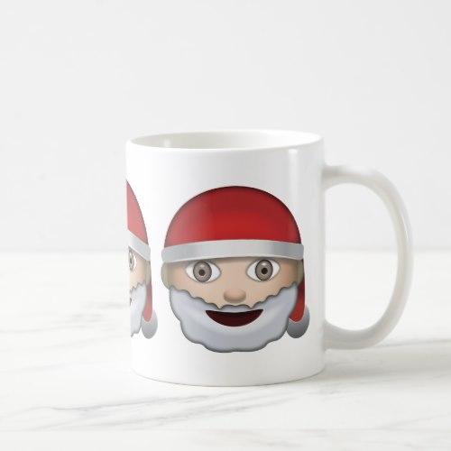 Father Christmas Emoji Coffee Mug