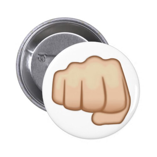 Fisted Hand Sign Emoji Button