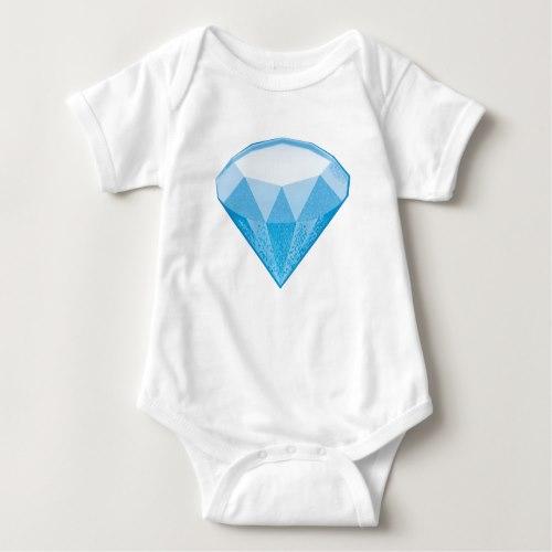 Gem Stone Emoji Baby Bodysuit