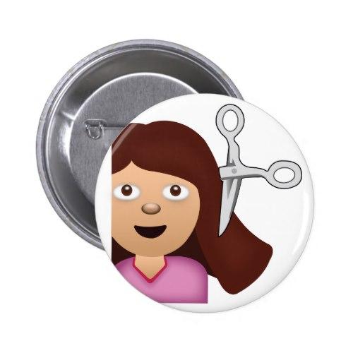 Haircut Emoji Button