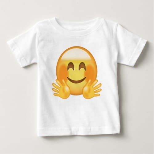 Hugging Face Emoji Baby T-Shirt
