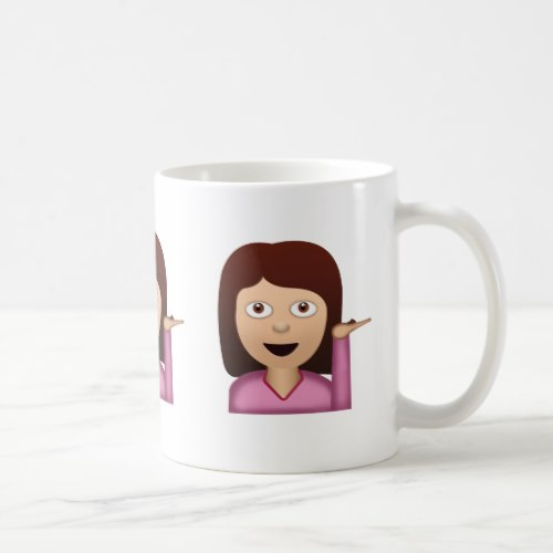 Information Desk Person Emoji Coffee Mug