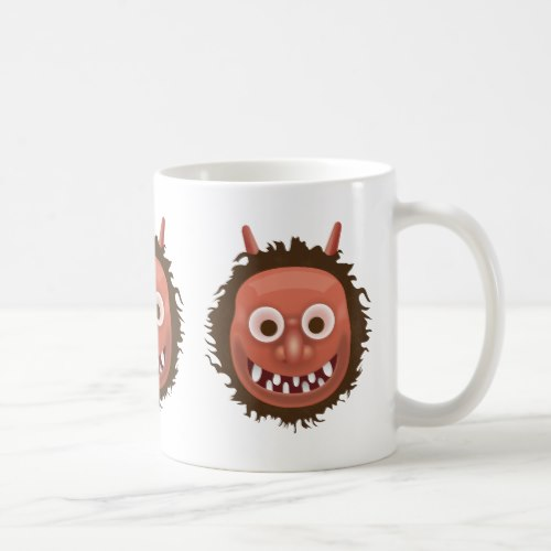 Japanese Ogre Emoji Coffee Mug
