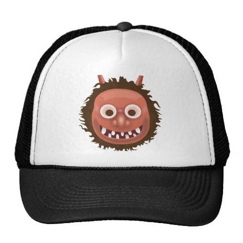 Japanese Ogre Emoji Trucker Hat