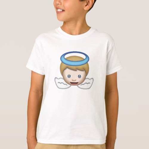 Baby Angel Emoji T-Shirt for Kids