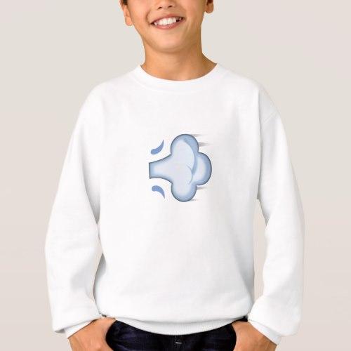 Dash Symbol Emoji Sweatshirt for Kids