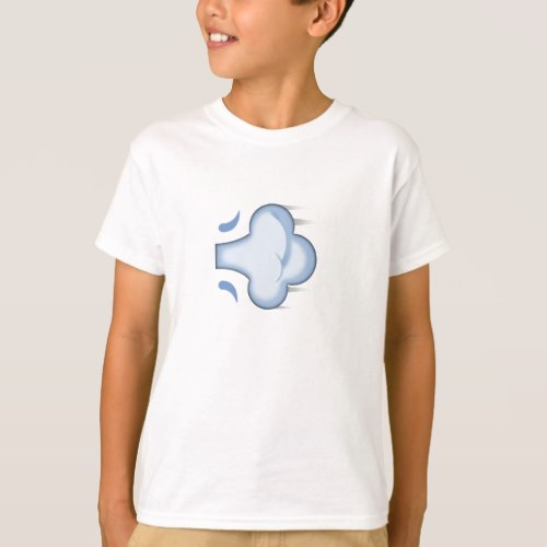 Dash Symbol Emoji T-Shirt for Kids