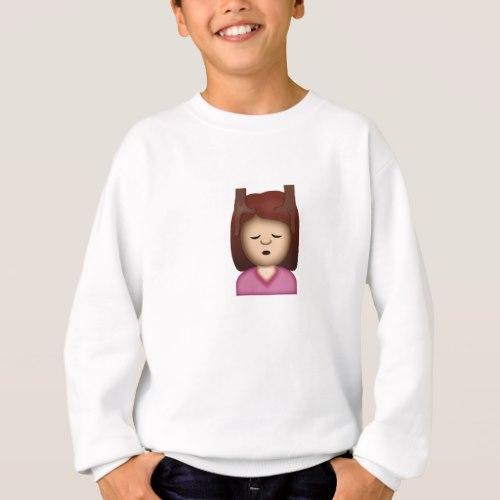 Face Massage Emoji Sweatshirt for Kids