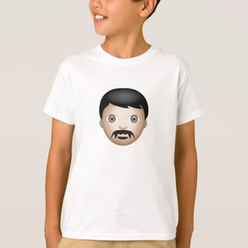 Man Emoji T-Shirt for Kids