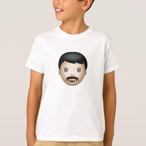 Man Emoji T-Shirt for Kids