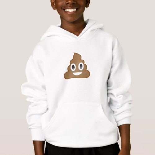 Pile Of Poo Emoji Hoodie for Kids