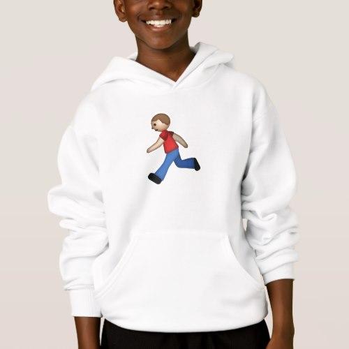 Runner Emoji Hoodie for Kids