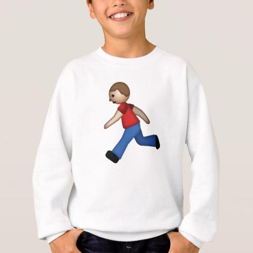 Runner Emoji Sweatshirt for Kids