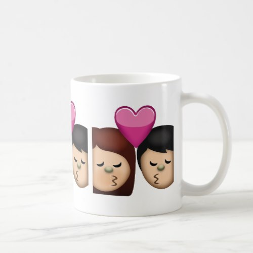 Kiss Emoji Coffee Mug