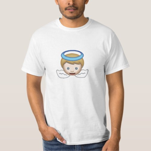 Baby Angel Emoji T-Shirt for Men