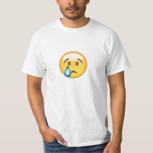 Crying Face Emoji T-Shirt for Men