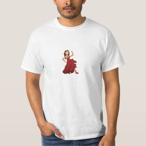 Dancer Emoji T-Shirt for Men