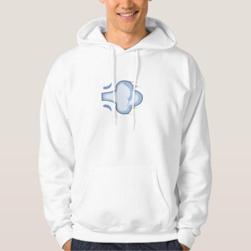 Dash Symbol Emoji Hoodie for Men