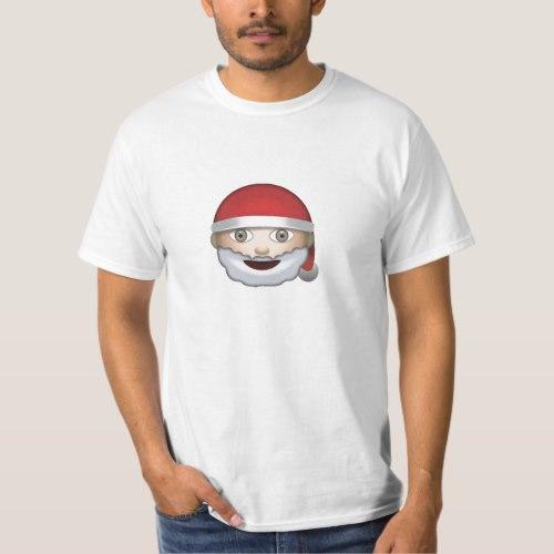 Father Christmas Emoji T-Shirt for Men