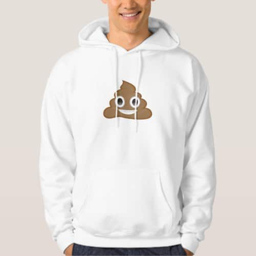 Pile Of Poo Emoji Hoodie for Men