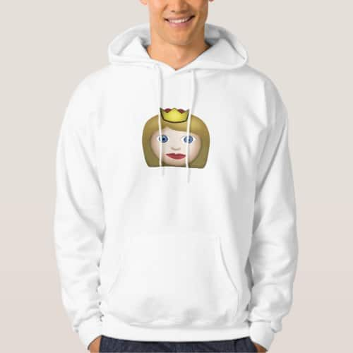 Princess Emoji Hoodie for Men