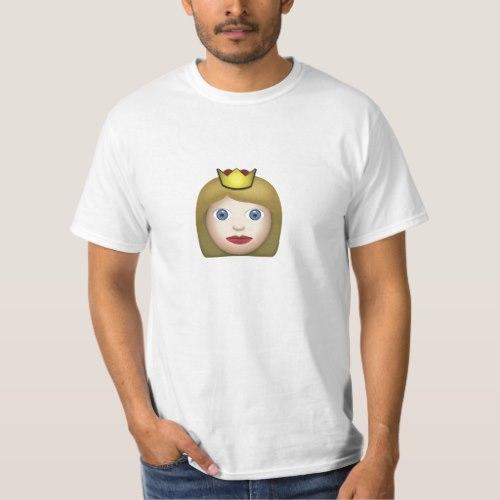 Princess Emoji T-Shirt for Men