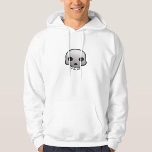 Skull Emoji Hoodie for Men
