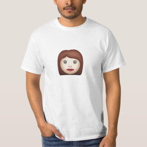 Woman Emoji T-Shirt for Men