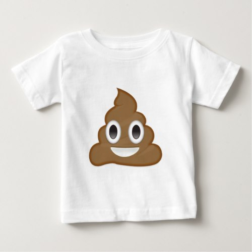 Pile Of Poo Emoji Baby T-Shirt