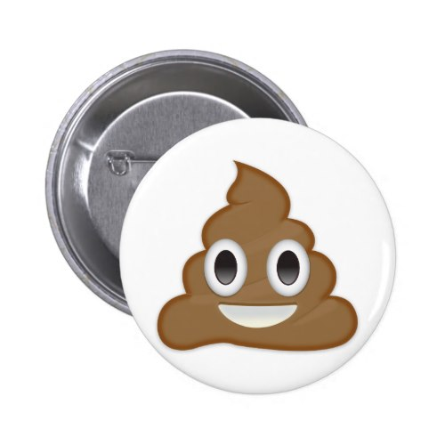 Pile Of Poo Emoji Button