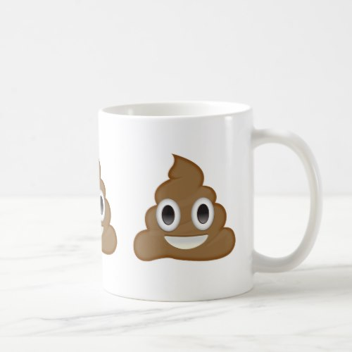 Pile Of Poo Emoji Coffee Mug