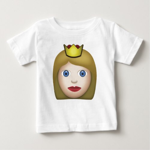 Princess Emoji Baby T-Shirt