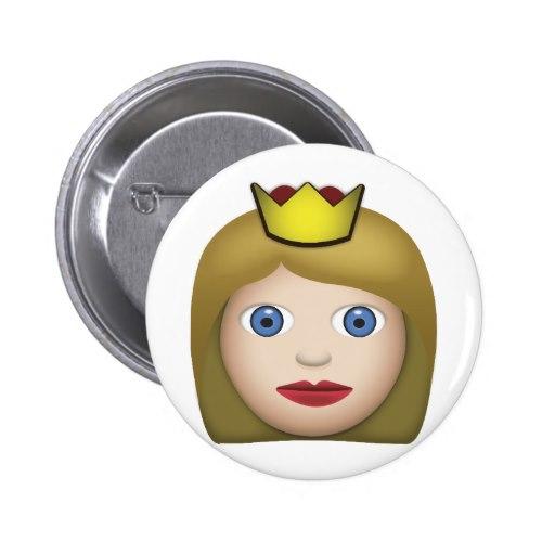 Princess Emoji Button