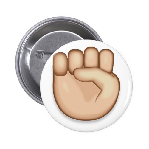 Raised Fist Emoji Button