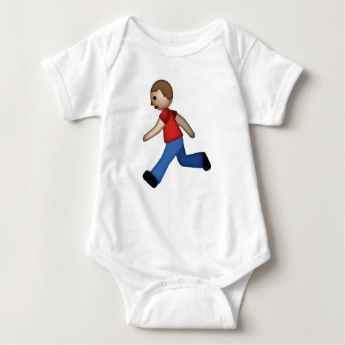 Runner Emoji Baby Bodysuit