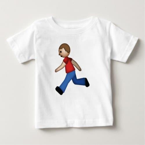 Runner Emoji Baby T-Shirt