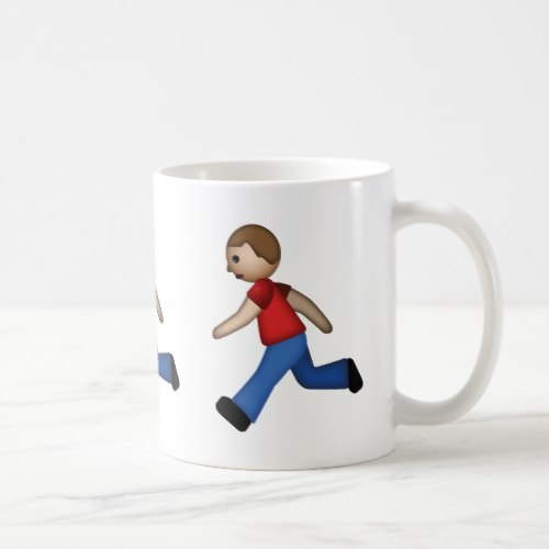 Runner Emoji Coffee Mug