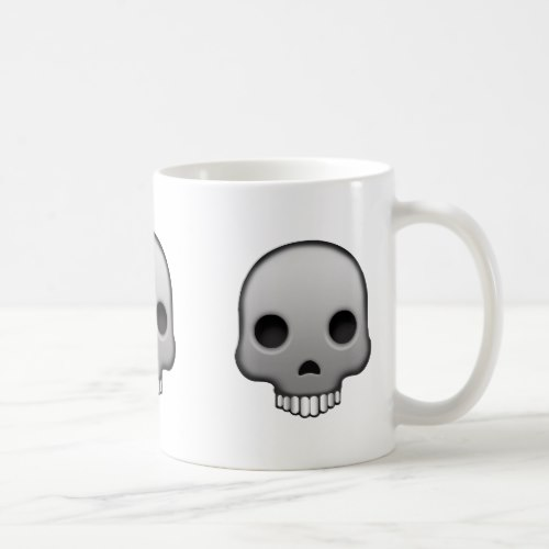Skull Emoji Coffee Mug