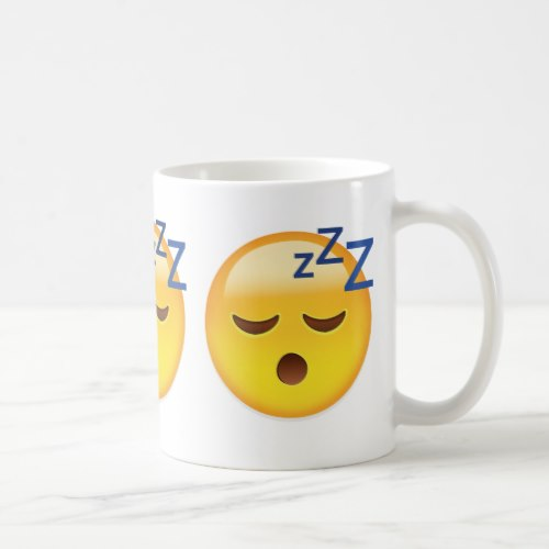 Sleeping Face Emoji Coffee Mug
