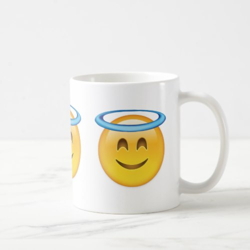 Smiling Face With Halo Emoji Coffee Mug